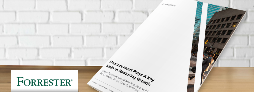 Ivalua | Forrester | Procurement's Role in Restoring Growth