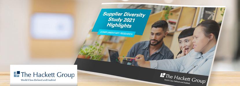 Hackett Group Supplier Diversity Study 2021