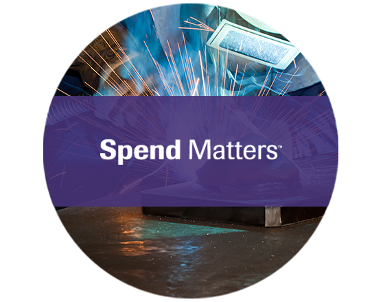 Spend Matters Manufacturing Report