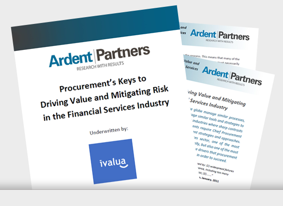 Driving Value and Mitigating Risk in the Financial Services Industry