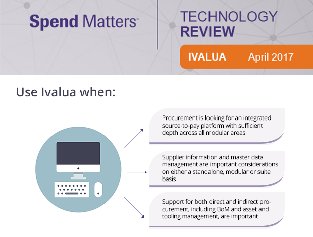Ivalua Source-to-Pay Technology Review